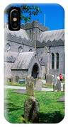St Canices Cathedral &, Round Tower IPhone Case
