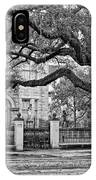 St. Charles Ave. Monochrome IPhone Case