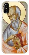 St John The Theologian IPhone Case