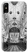 St. Louis Cathedral Monochrome IPhone Case