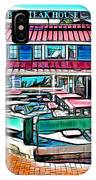 St Michaels Crab And Steak House IPhone Case