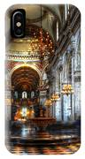 St Paul Cathedral Interior IPhone Case