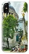 St Paul Is Giving His Blessing IPhone Case