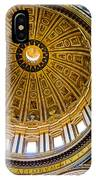 St Peter's Basilica Dome  IPhone Case