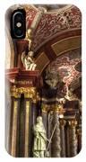 St Stanislaus Church - Posnan Poland IPhone Case