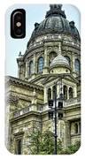 St Stephen Basilica   Budapest IPhone Case