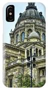 St Stephens Cathedral - Budapest IPhone Case