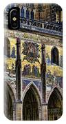 St Vitus Cathedral Entrance IPhone Case