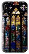 St Vitus Cathedral Stained Glass IPhone Case