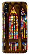 St Vitus Main Altar Stained Glass IPhone Case
