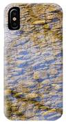 St Vrain River Reflection IPhone Case