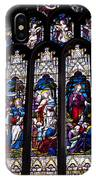 Stained Glass - Bath Abbey IPhone Case
