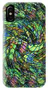 Stained Glass In Abstract IPhone Case