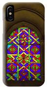 Stained Glass Window In Mezquita IPhone Case