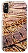 Stainless And Rust Abstract IPhone Case