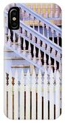 Stairs And White Picket Fence IPhone Case