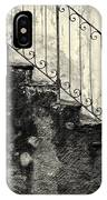 Stairs On A Rainy Day IPhone Case