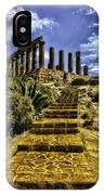 Stairway To The Past IPhone Case