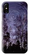 Star Trails IPhone Case