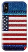 Stars And Stripes Denim IPhone Case