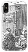 Steam Washer, 1872 IPhone Case