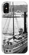 Steamer In The Hudson River - New York - 1909 IPhone Case