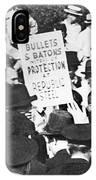 Steel Strike, 1937 IPhone Case