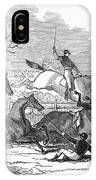 Steeplechase, 1845 IPhone Case