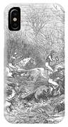 Steeplechase, 1847 IPhone Case