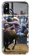 Steer Wrestling  IPhone Case
