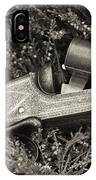 Stephen Grant And Sons Side Lever Twelve Bore - D003359-bw IPhone Case
