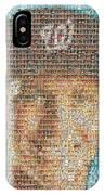 Stephen Strasburg Card Mosaic IPhone Case