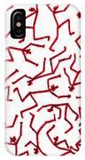 Stickmen Characters Nine Eleven Two K Ten IPhone Case