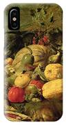 Still Life Of Fruits And Vegetables IPhone Case