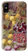 Still Life With Fruit IPhone Case