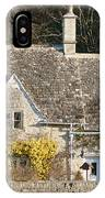 Stone Cottages IPhone Case