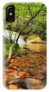 Stone Mountain Lower Falls IPhone Case