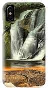 Stone Mountain Window Falls IPhone Case