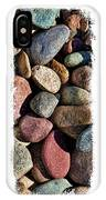 Stone Triptych 3 IPhone Case