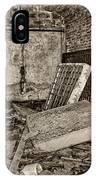 Stonehaven Rehab Sepia IPhone Case
