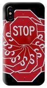 Stop Sign Kalidescope IPhone Case