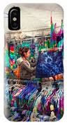 Storefront - Tie Dye Is Back  IPhone Case