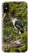 Storks Around A Nest IPhone Case