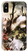 Storming Of Maori Fort  IPhone Case
