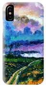 Stormy Road IPhone Case