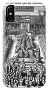 Strafford Trial, 1641 IPhone Case