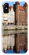 Straganiarska Gate In Gdansk IPhone Case