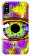 Strange Eye II IPhone Case