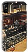 Strasburg Railroad Museum IPhone Case