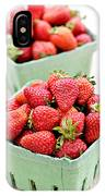 Strawberries IPhone Case